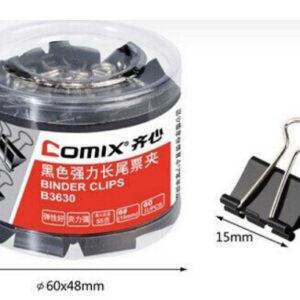 Štipaljke za papir 15mm 60/1, Comix
