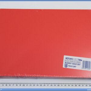 Papir/Karton u boji A4 1/100, 200gr ROSSO/CRVENI, Fabriano