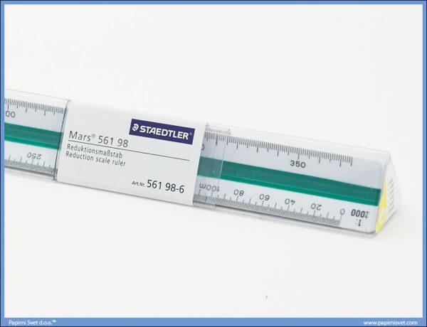 Razmernik lenjir tehnički PVC 1:500-1:2500, Stadetler