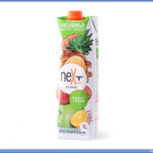 Sok NEXT Classic Multivitamin voćni nektar, 1litar