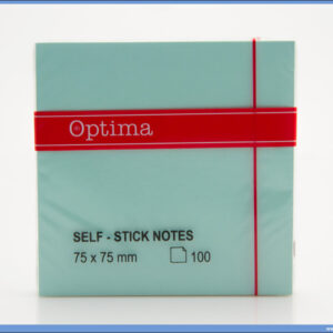 STICKY NOTES samolepljivi blokčić 75x75mm ZELENI