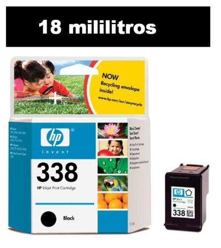 HP C8765EE Light User Black Cartridge (HP 338)