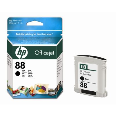 HP C9385AE Black Cartridge (HP 88)