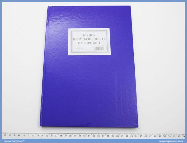 Knjiga primljene pošte na ličnost