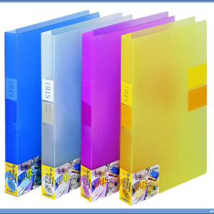 Fascikla RING BINDER sa 2 ringa 20mm TRANSPARENT BELA, Comix