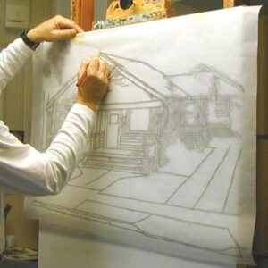 Paus papir B1 format 100x70cm 95gr 10/1