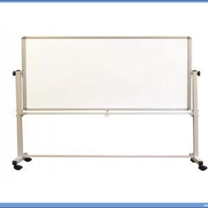 Bela tabla magnetna POKRETNA-OKRETNA 120X180cm OPTIMA