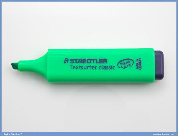 Tekst marker zeleni, Stadtler