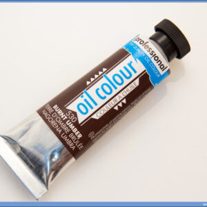 Uljana boja 45ml BURNT UMBER, Professional