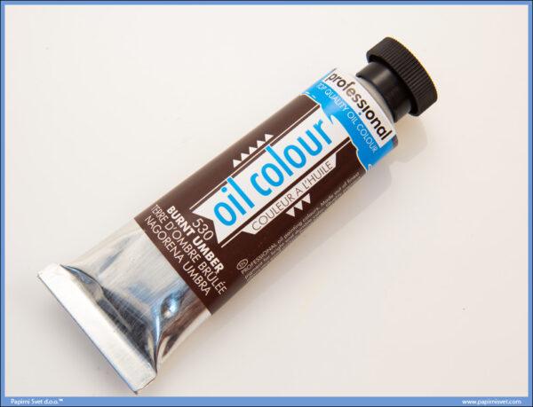 Uljana boja 45ml BURNT UMBER, Professional