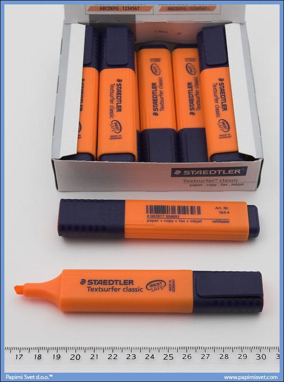Tekst marker narandžasti, Staedtler