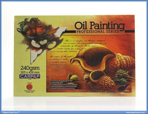 Slikarski blok za uljane boje 305x458mm 240gsm, 12 listova