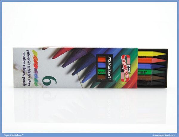 Bojice PROGRESSO 1/6, Koh-I-Noor - Woodless coloured pencils