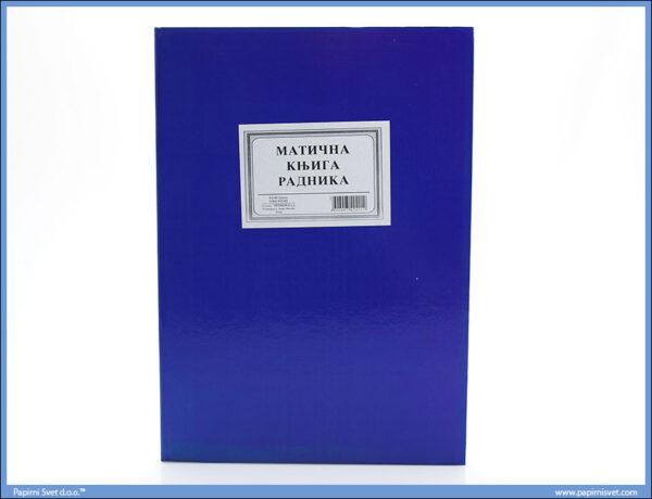Matična knjiga radnika