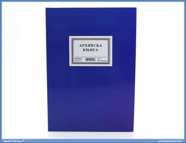 Arhivska Knjiga A4