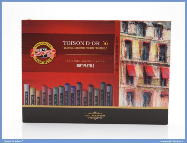 Suvi pastel 1/36, Koh-i-noor - Toison D`or 36 Soft Pastel