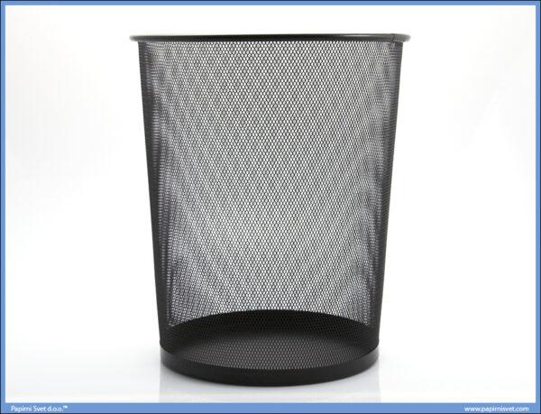 Korpa za smeće mrežasta crna 30L