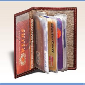 Kožna futrola za sve vrste kartica PRINCE LEATHER