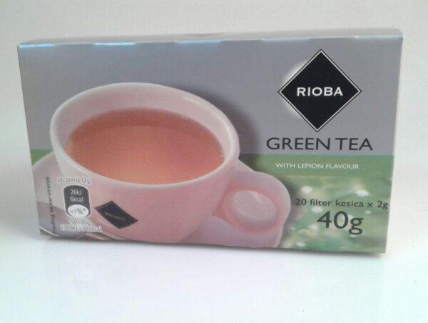 Čaj ZELENI SA LIMUNOM, Rioba