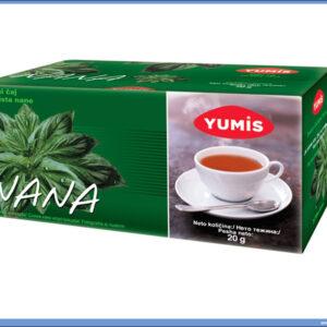 Čaj NANA-MENTA, Yumis