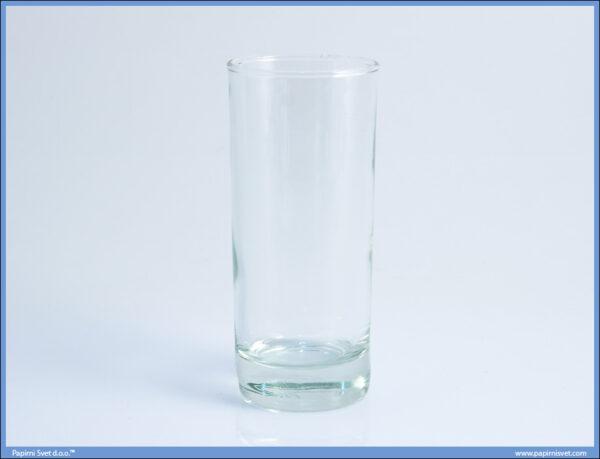 Čaša staklena cilindrična 0.2L