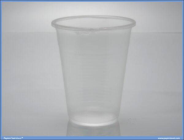 Plastične Čaše PVC 0.5L 1/50
