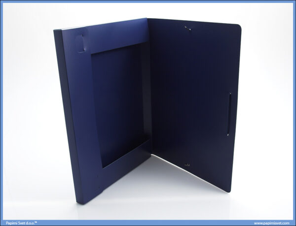Fascikla sa gumom A4 PVC Plava MEGAPOLIS
