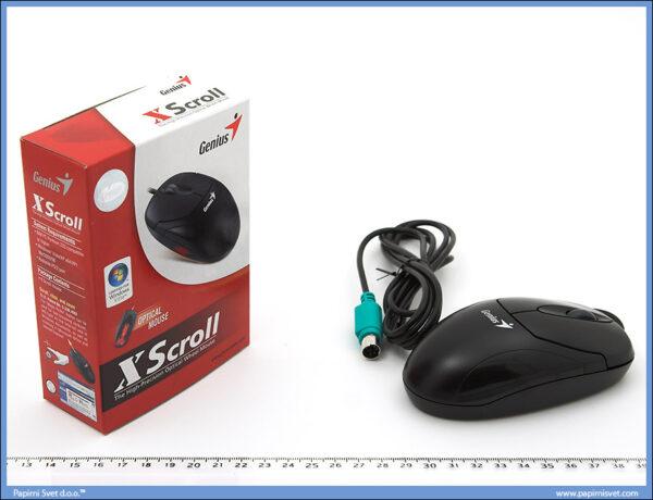 Miš optički Xscroll PS2, Genius
