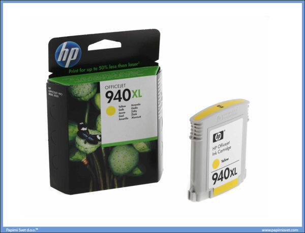 HP Ink Cartridge yellow C4909AE 940XL