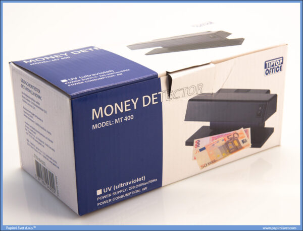 Lampa-Detektor lažnih novčanicaMT400 404302, TTO 04