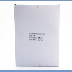 Folija za plastifikaciju A7 80x110mm, 125mik. 1/100