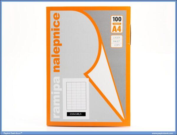 Etikete 210x148.5mm 100 listova, Ramipa