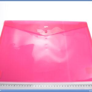 Fascikla koverta A3 PVC ROZE, COMIX