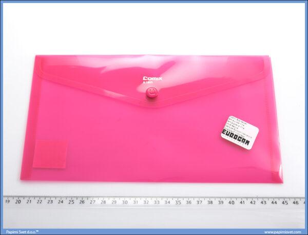 Fascikla PVC amerikan A1855 ROZE, Comix