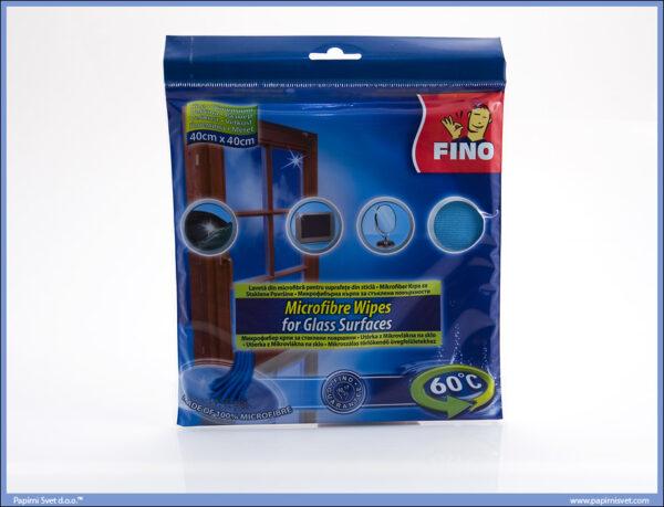 Mikrofiber Krpa za staklene površine 40x40cm, Fino