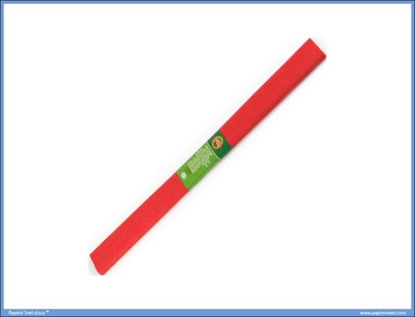 Krep papir 200x50cm RED CRVENI