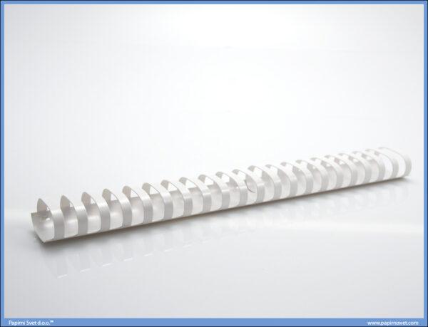 Spirala za koričenje 32mm 1/50 BELA