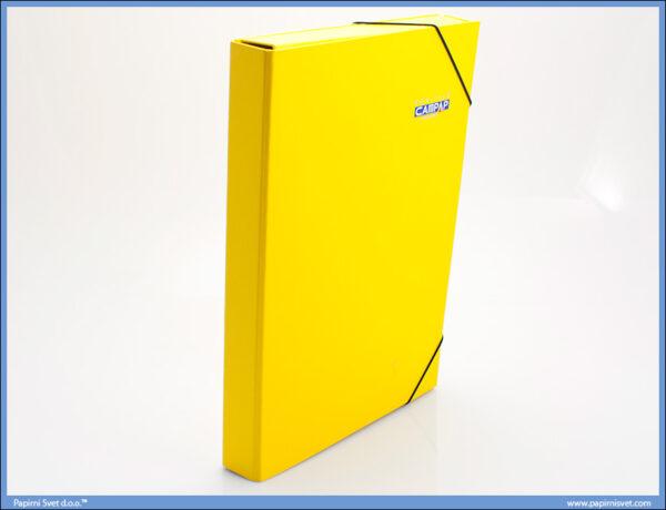 Fascikla BOX 40mm A4 ŽUTA, Campap