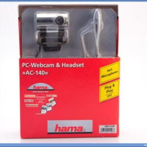 Web kamera & Headset AC 140, Hama