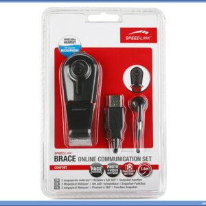 WEB Kamera - Set za VoIP Brace Online, Speed Link