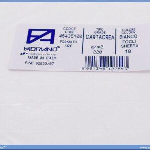 Karton B1 220gr BIANCO 1/10