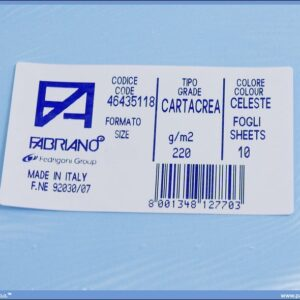 Karton B1 220gr CELESTE 1/10