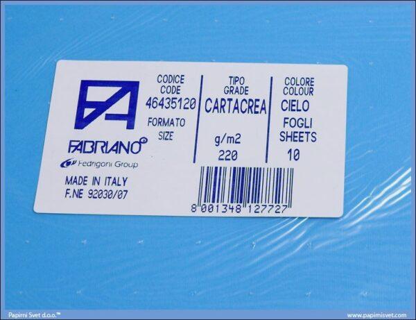 Karton B1 220gr CIELO 1/10