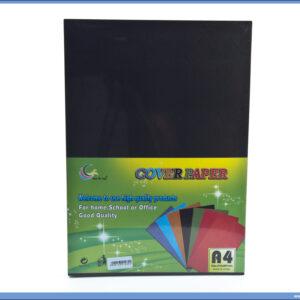 Karton za koričenje CRNI 230gsm 1/100