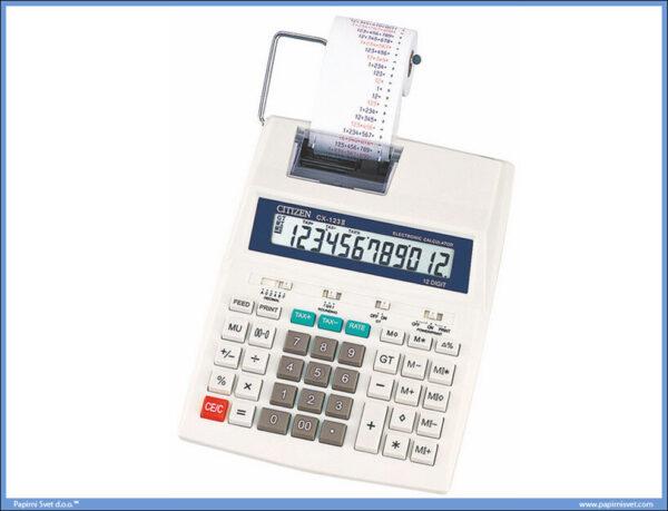Računska mašina CX 123 II, 12 cifara / IR40, Citizen