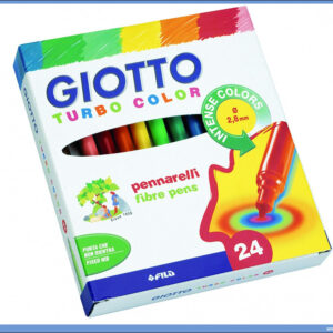 Flomasteri 1/24 TURBO COLOR, Giotto