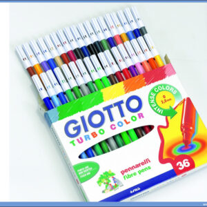 Flomasteri 1/36 TURBO COLOR, Giotto