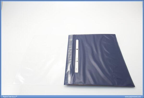 Fascikla A4 PVC sa mehanizmom JAČA Lepenka Plava