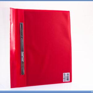 Fascikla A4 PVC sa metalnim mehanizmom JAČA Lepenka CRVENA