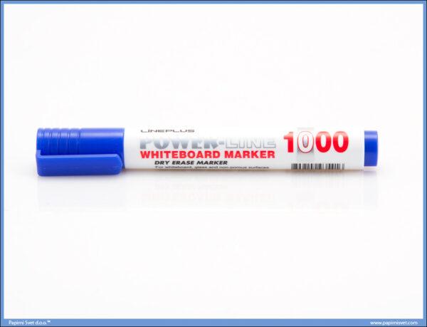 Marker za belu tablu obli vrh PLAVI, Line Plus